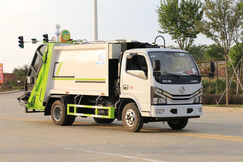 6方压缩垃圾車-东风多利卡国六6方压缩式垃圾車厂家价格